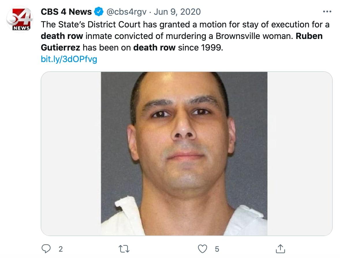 Surge el nombre de Rubén Gutiérrez en la investigación