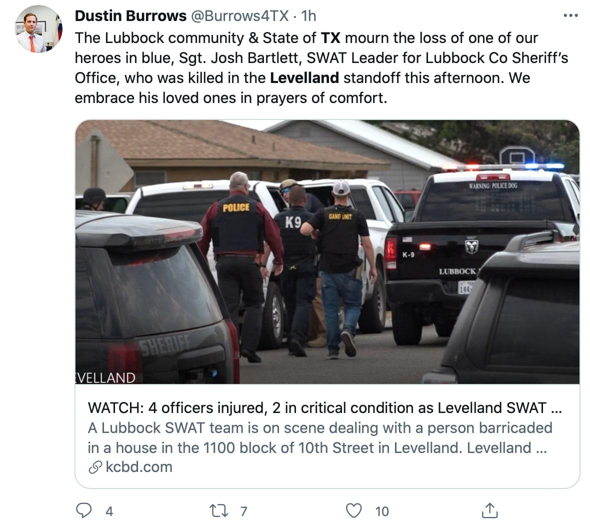 Tiroteo Levelland: Un nuevo tiroteo masivo en Texas
