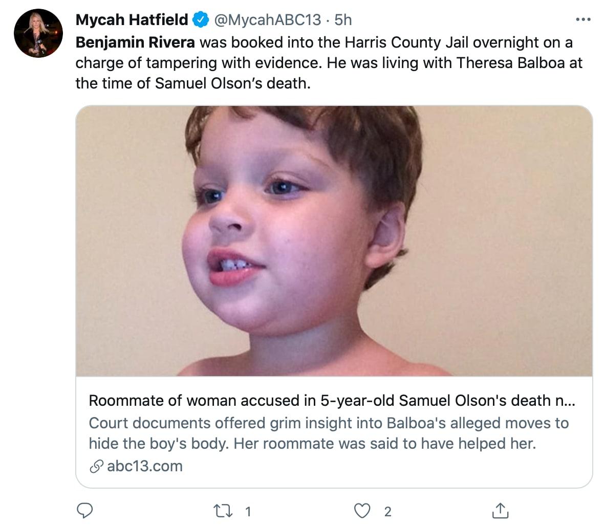 El niño al parecer murió desde el 10 de mayo