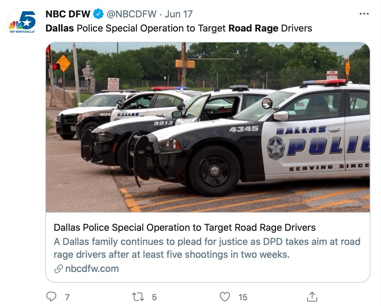 Ahora la policía de Dallas anunció un operativo especial