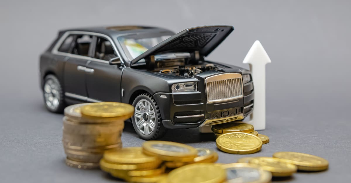 Rising prices for auto parts