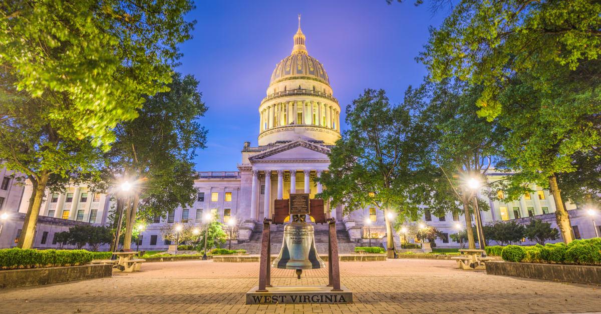 Capitolio del Estado de Virginia Occidental en Charleston, Virginia Occidental, Estados Unidos.