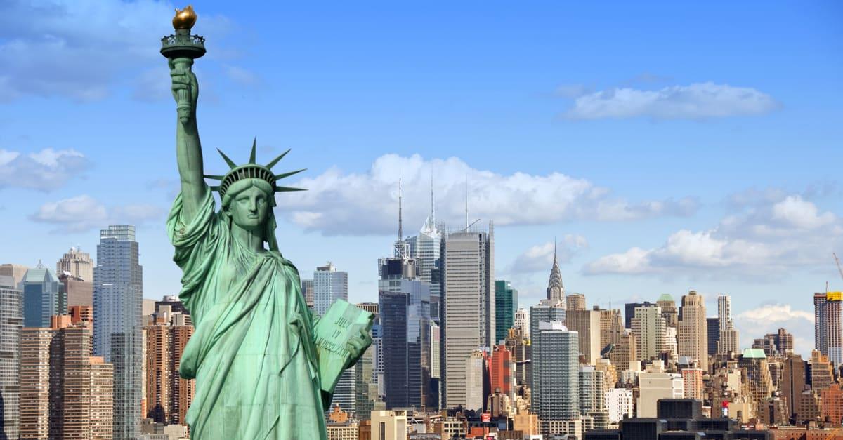 el paisaje urbano de Nueva York