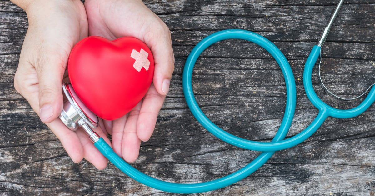 Healthcare medical insurance business and world heart health day concept