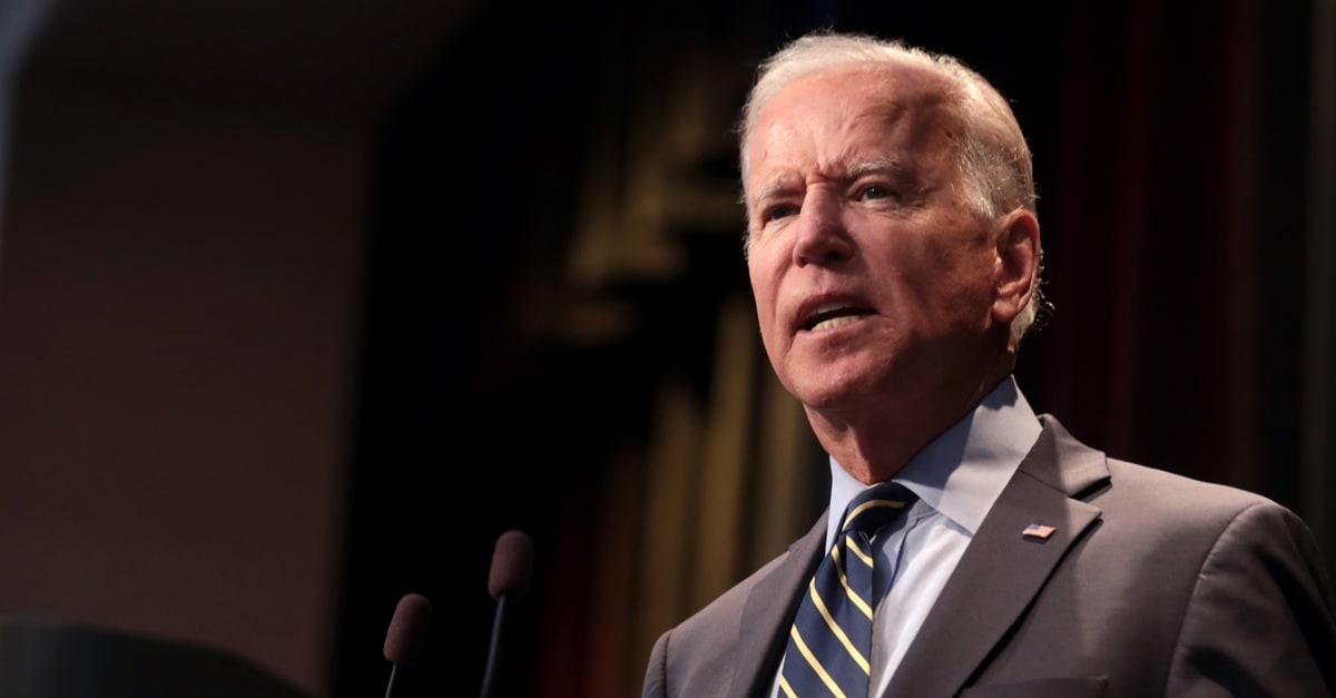 Fotografía del presidente Joe Biden