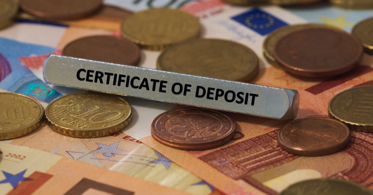 certificados de deposito certificate of deposit - the word was printed on a metal bar. the metal bar was placed on several banknotes