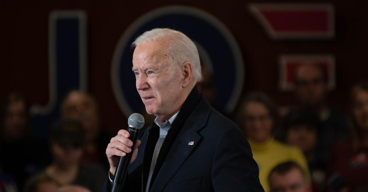 El presidente de EE.UU. Joe Biden