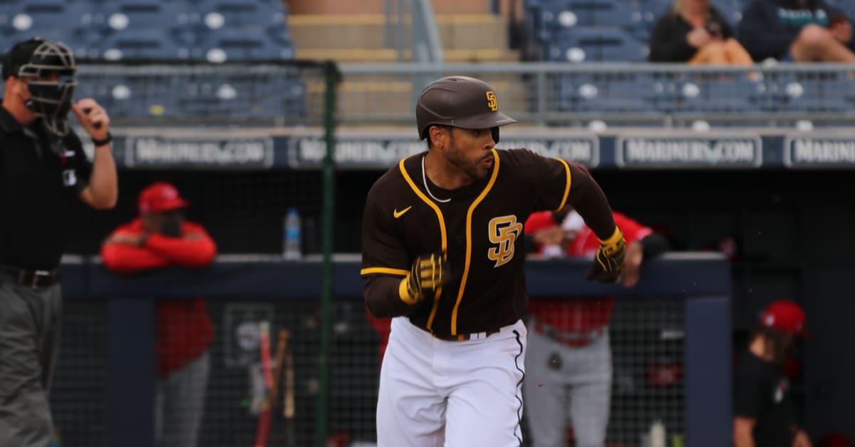 Fernando,Tatis JR, infielder for the San Diego Padres