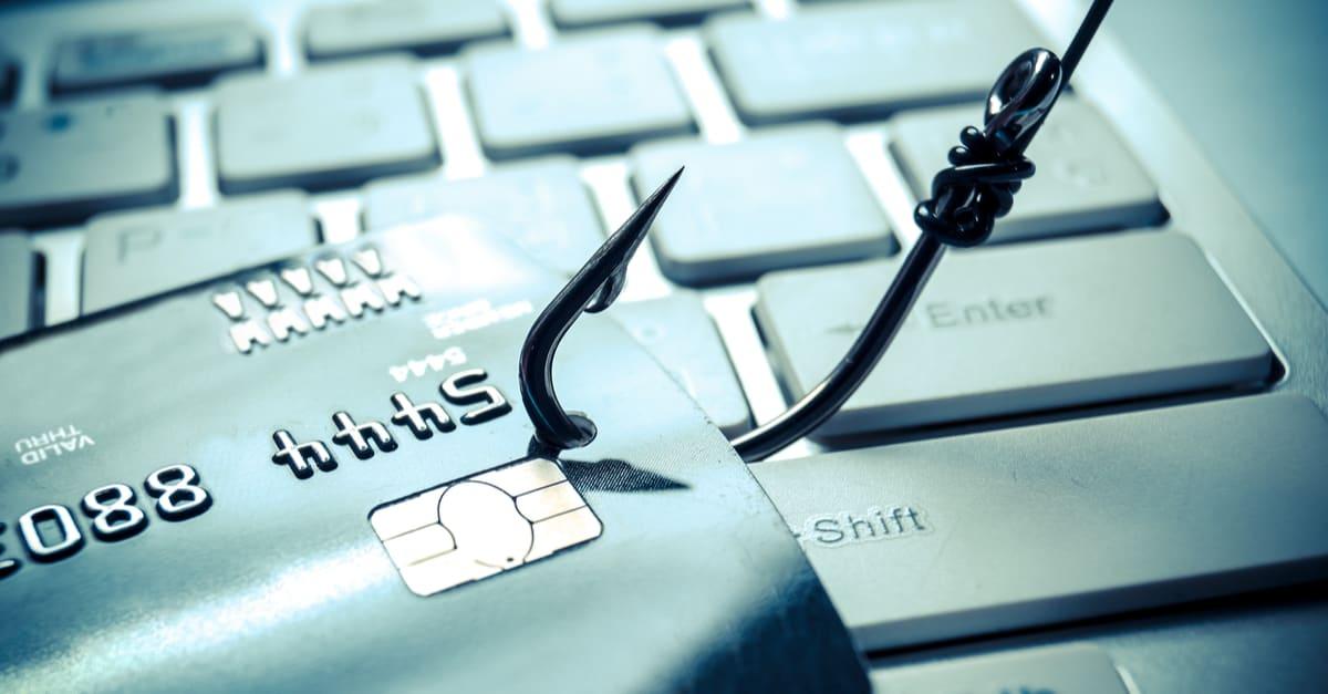 tienda falsa ataque de phishing de tarjeta de crédito