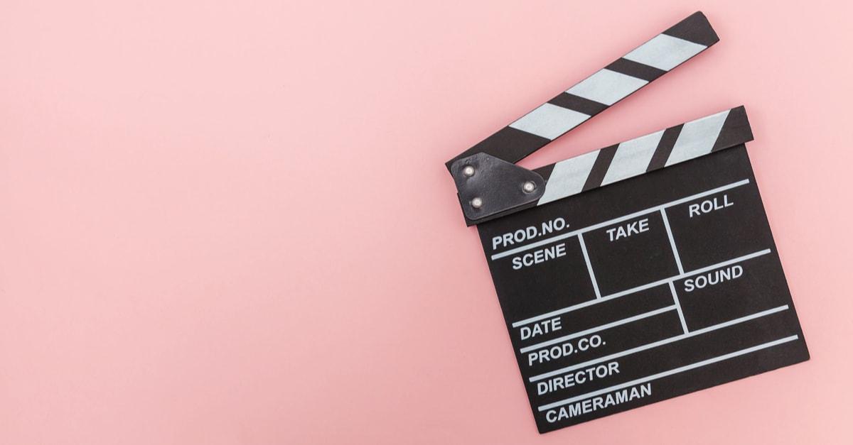 Claqueta utilizada en películas
