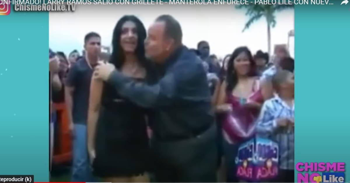 Resurge video del día que Raúl de Molina cargó a Graciela Beltrán y se le vio todo
