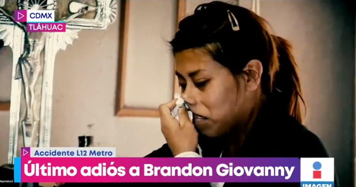 """Me lo mataron. Nada me devuelve a mi hijo"", dice la madre de Brandon Giovanny"