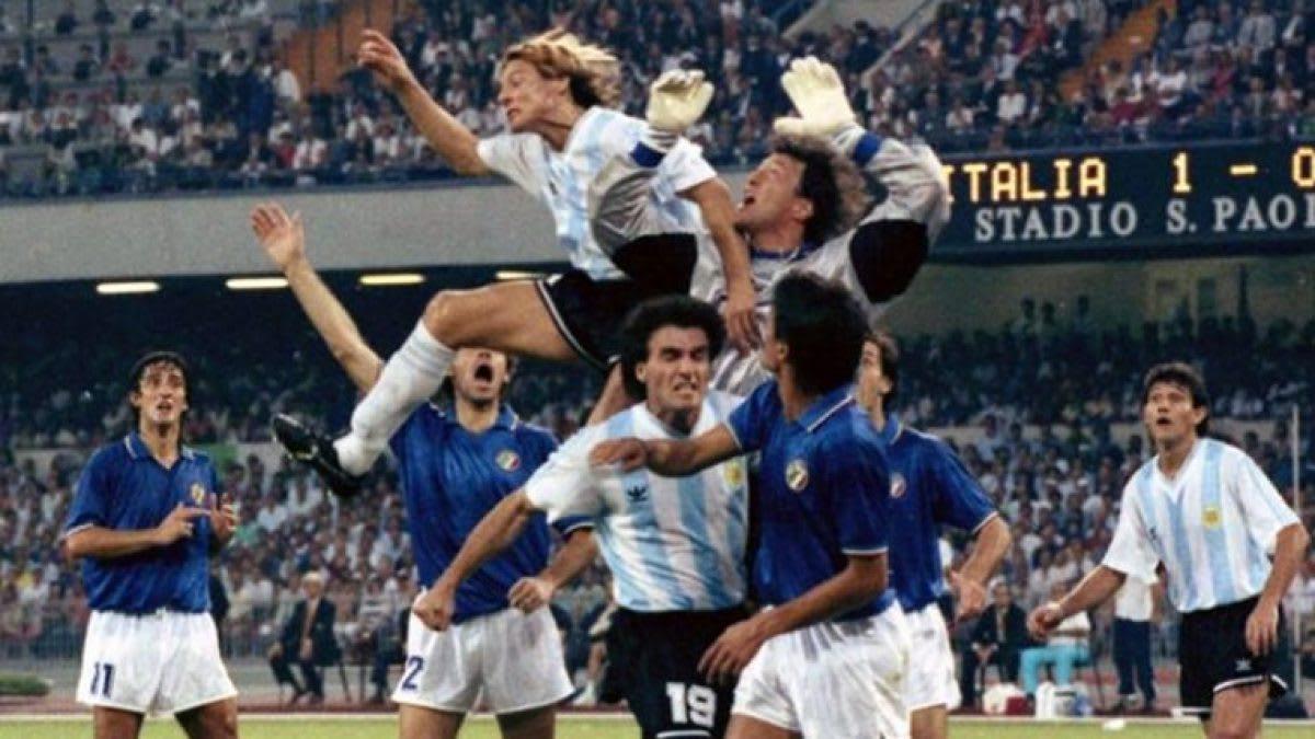 Italia y Argentina.
