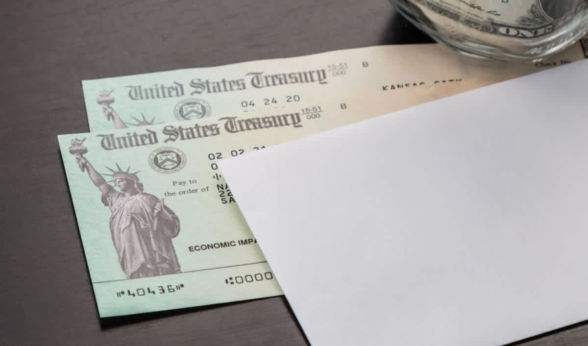 Which Social Security beneficiaries have already sent the third aid check?