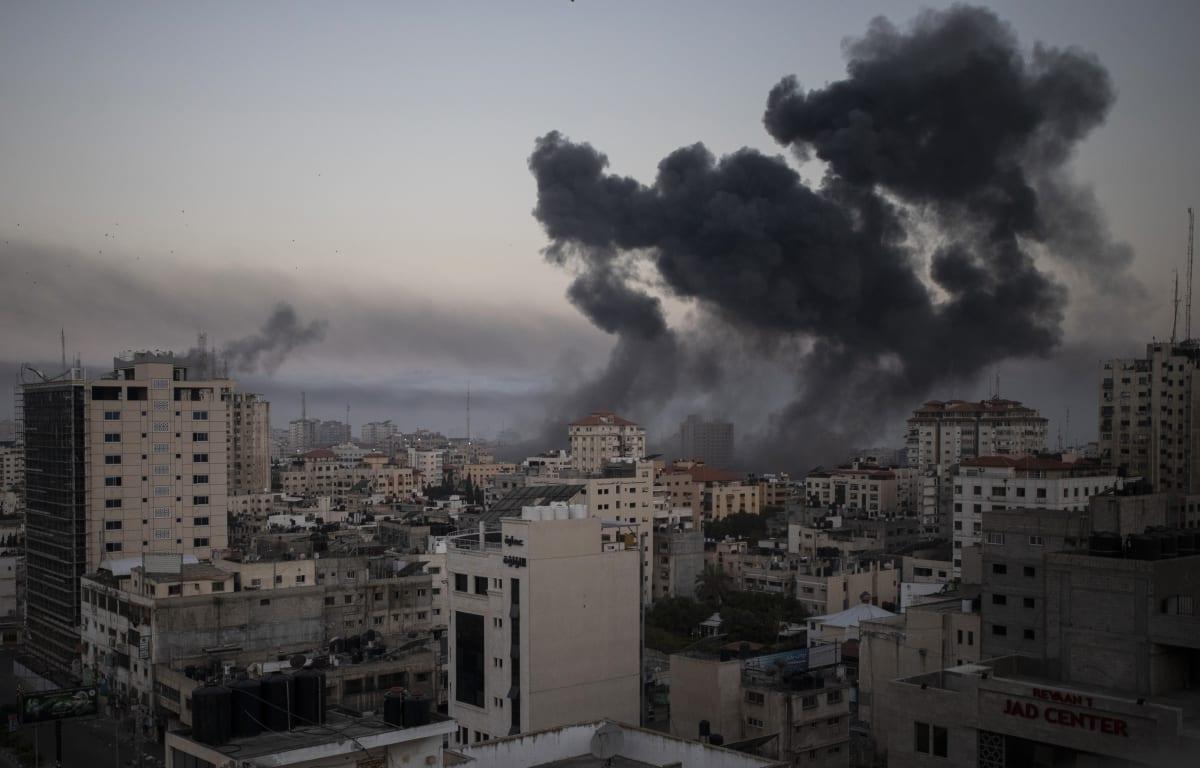 Israel Franja de Gaza, Bombardeos