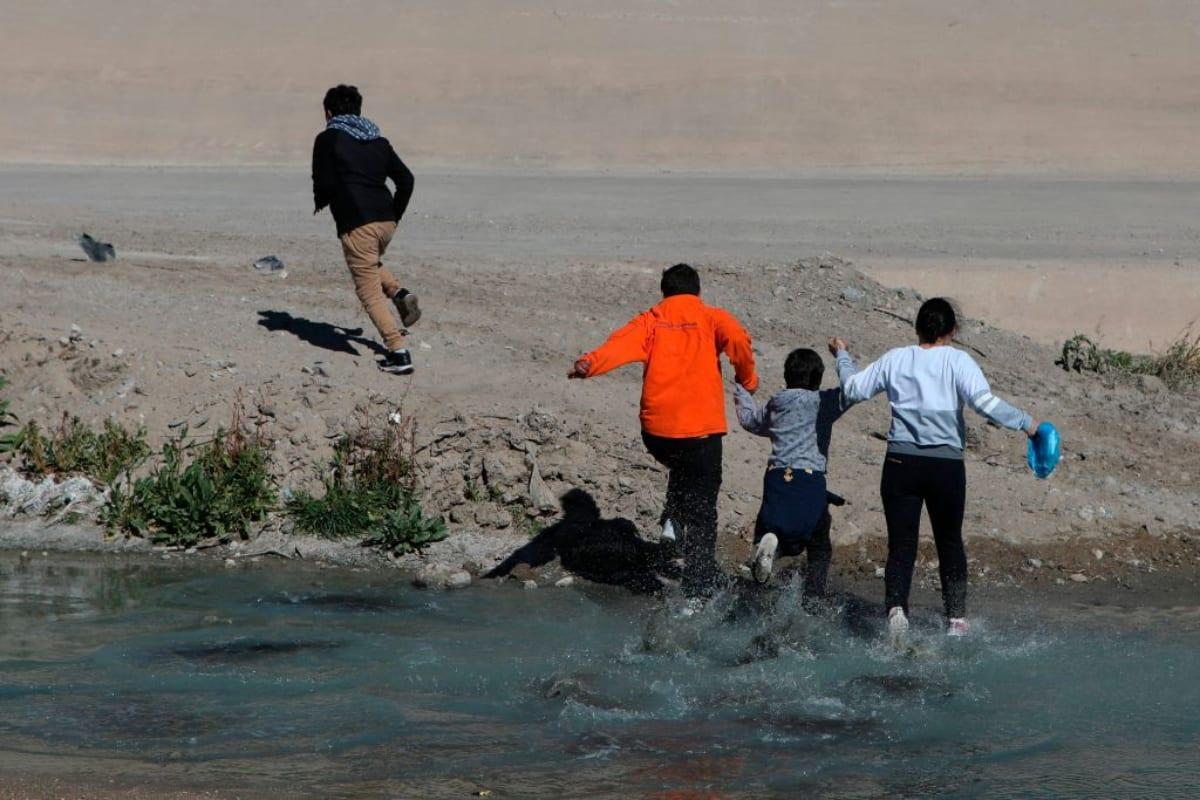 Bebé Río Bravo, CBP, Frontera