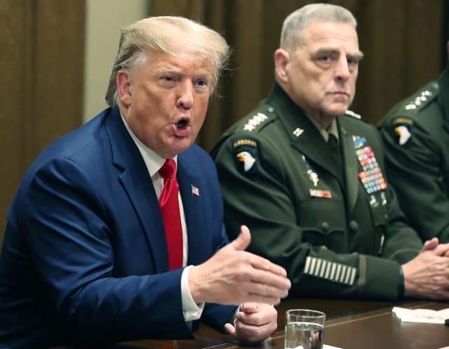 Trump guerras