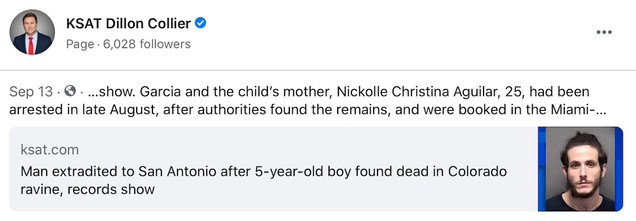 Los detalles en la muerte deDomenic Patrick Aguilar Acevedo