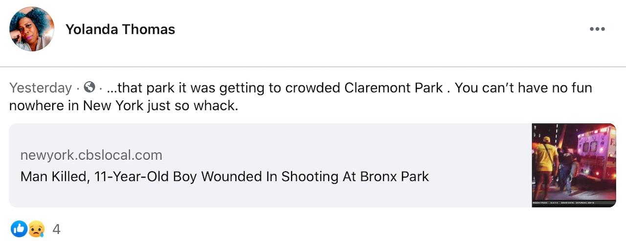 Un niño de once años estaba estaba entre las víctimas