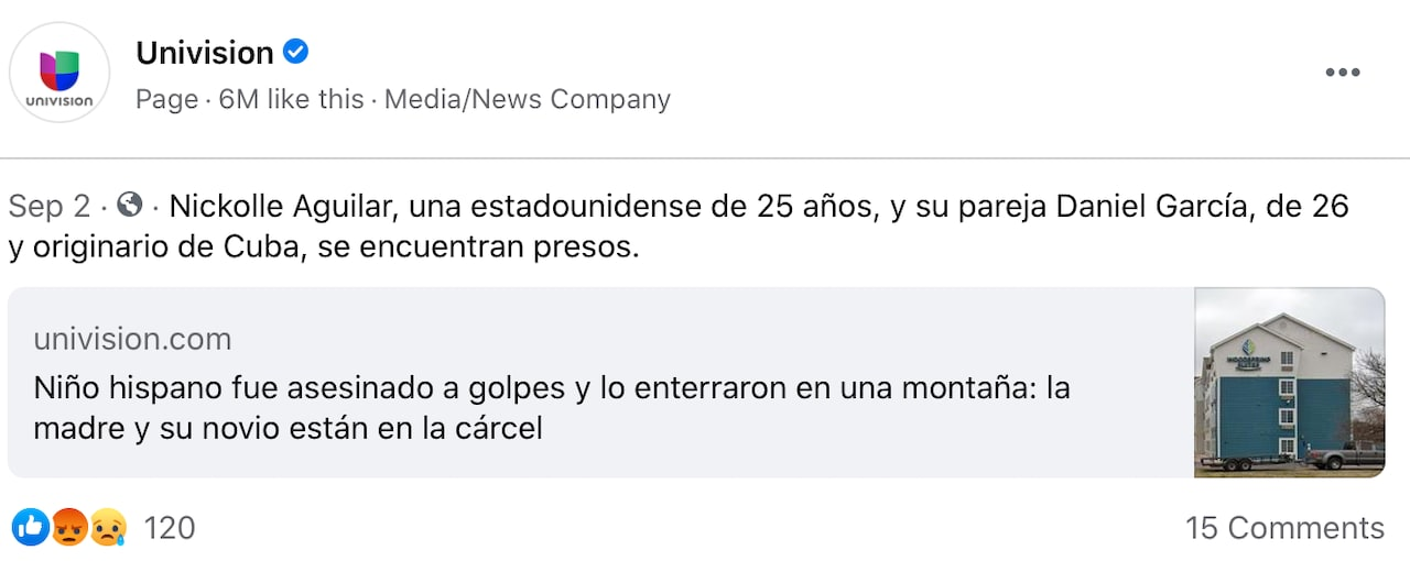 Daniel García sacudió el cuerpo del niño con fuerza