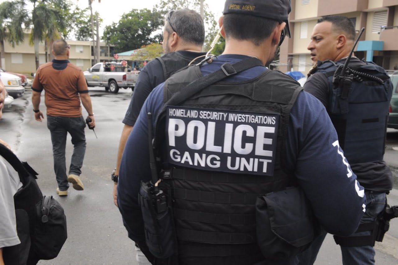 A city that gang members try to control