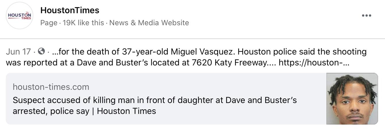Vásquez tenía 37 años cuando fue asesinado