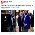 Biden servicio secreto: recibe más protección ante posible victoria