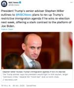 Plan migratorio de Trump