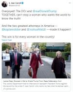 Juez Departamento Justicia Trump