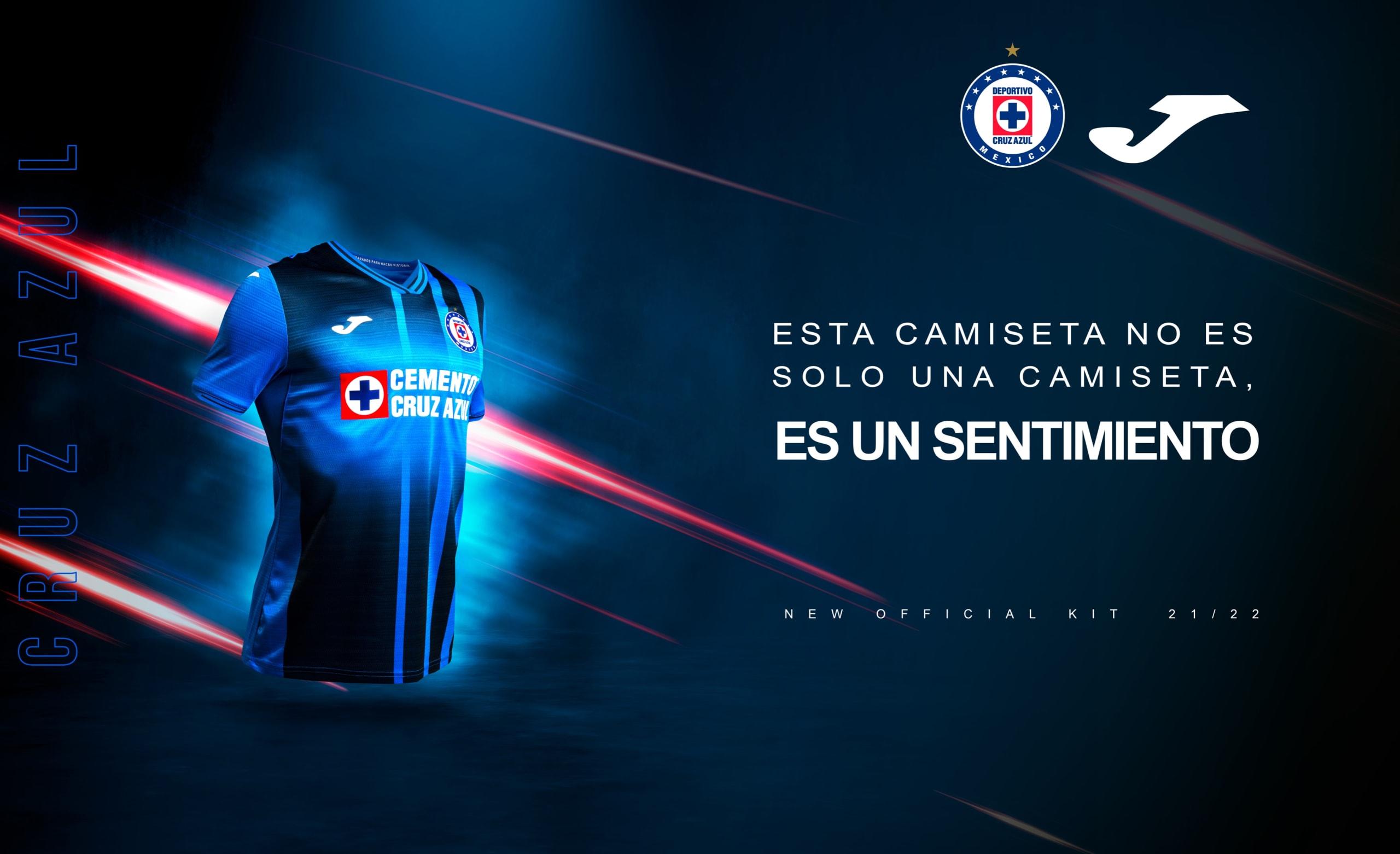 Cruz Azul uniforme Nuevo