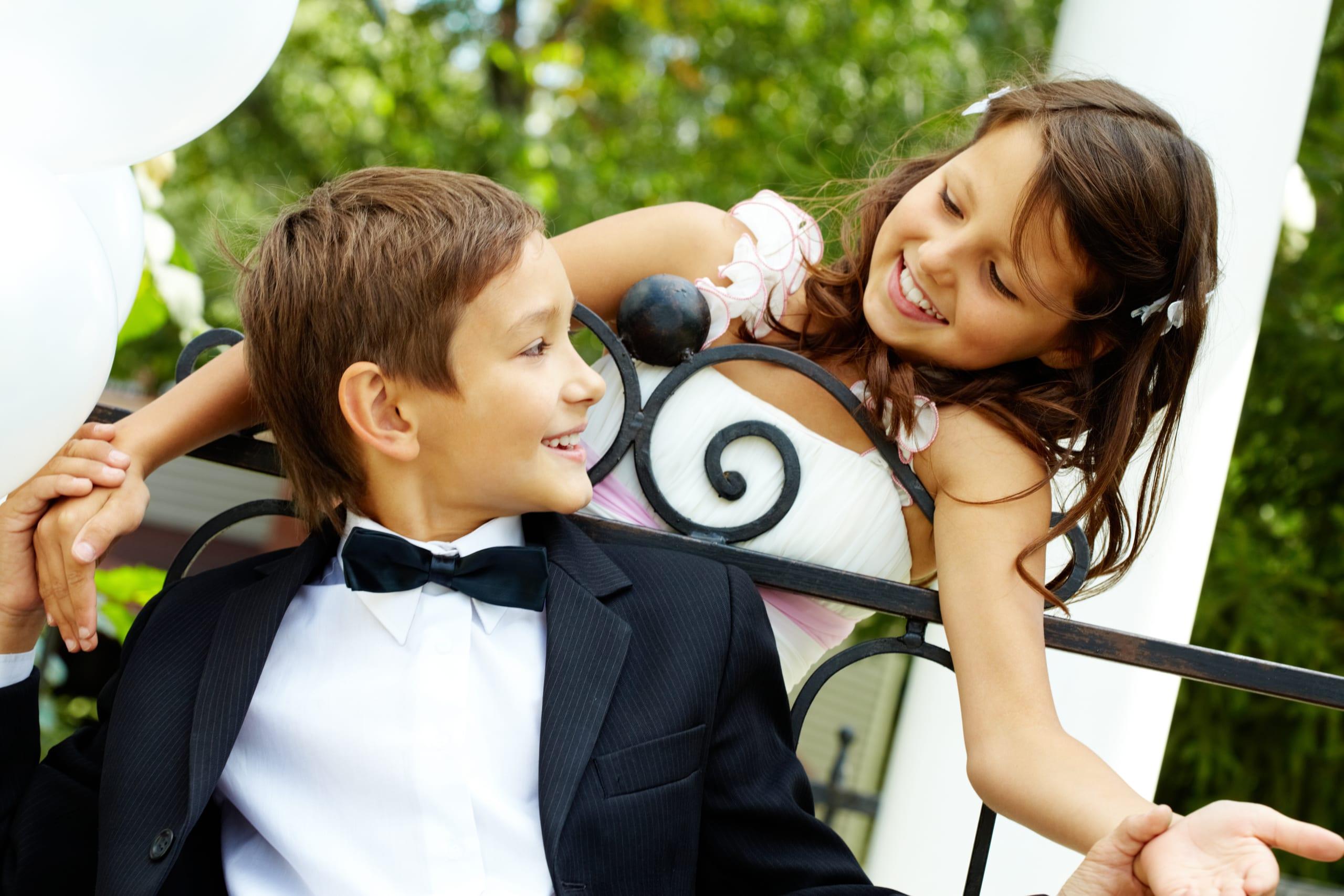 Bebes y niños en una boda: ¿Cómo organizarse con ellos?