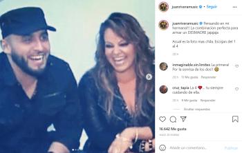 Juan Rivera comparte fotos inéditas de su hermana Jenni