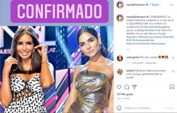 Suplen a Alejandra Espinoza de la conducción de Nuestra Belleza Latina