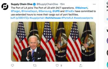Casa Blanca acuerdo Walmart, UPS, FedEx