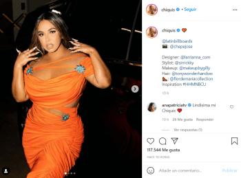 Chiquis Rivera fue duramente criticada por el vestido que usó en los Billboard