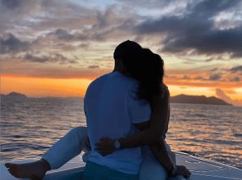Lo presume por primera vez; Clarissa Molina y su novio presumen su romance con candente fotografía