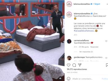 Pablo Montero rompe en llanto tras su discusión con Celia Lora en La Casa de los Famosos