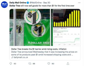 Tiendas Dollar Tree precios