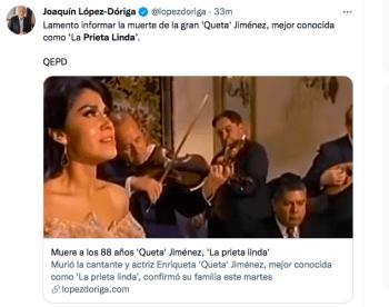 Queta Jiménez La Prieta Linda
