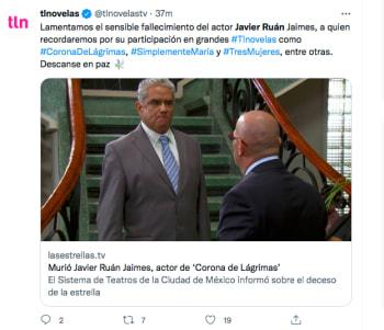 Javier Ruán Telenovelas