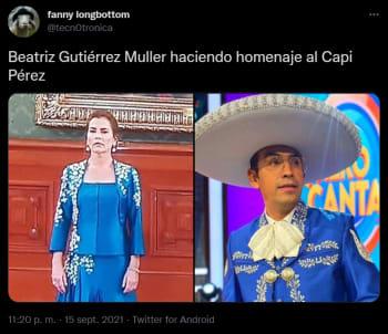 La comparan con el Capi Pérez