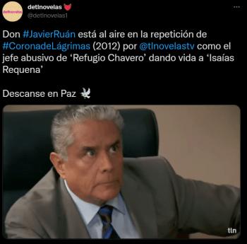 ¿Segunda temporada de Corona de Lágrimas?: Victoria Ruffo manda mensaje tras muerte de un reconocido actor