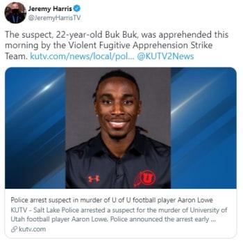 Arrestan a sospechoso de matar al jugador de fútbol americano Aaron Lowe