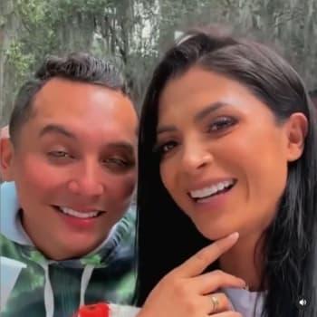 ¿Terminarán como Chyno y su esposa?; Edwin Luna y Kimberly Flores mandan mensaje