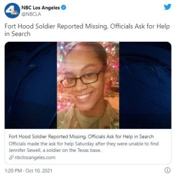 Buscan a soldado desaparecida en la misma base militar que Vanessa Guillén