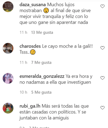 Are you afraid of being investigated ?;  They assure that Galilea Montijo is in delicate health