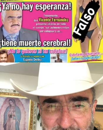 """""""It is very sad to see this kind of news""""; Are you brain dead? Son of Vicente Fernández tells the truth"""