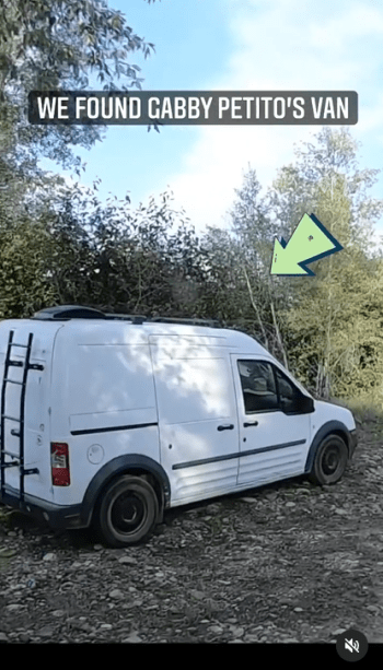 """""""The van was alone""""; They show the moment when they found the body of Gabby Petito"""