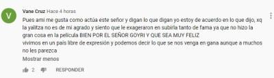 Sergio Goyri Yalitza Aparicio