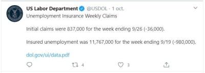 solicitudes desempleo octubre
